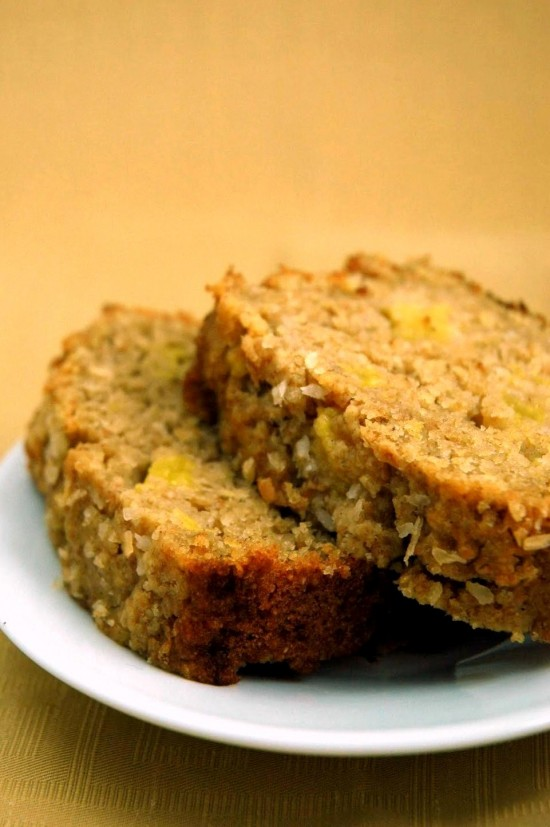 Peach Cardamom Quick Bread | A Dash of Compassion