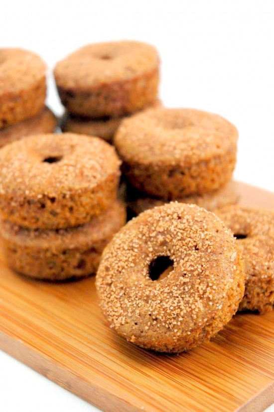 Baked Apple Cider Doughnuts | A Dash of Compassion