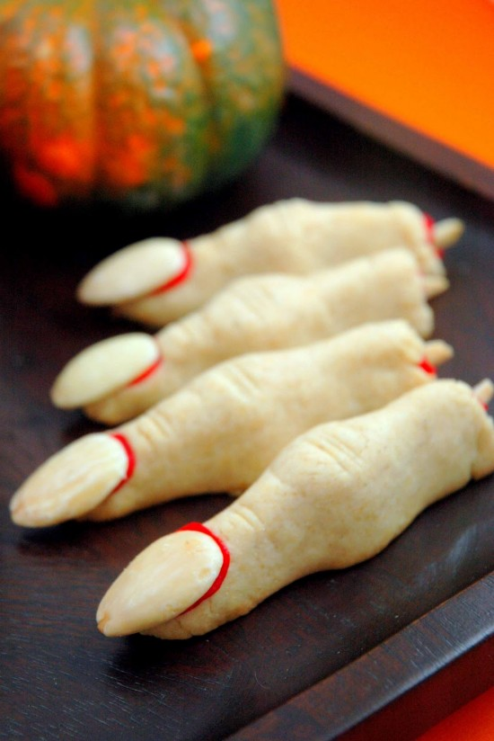 Halloween Finger Cookies | A Dash of Compassion