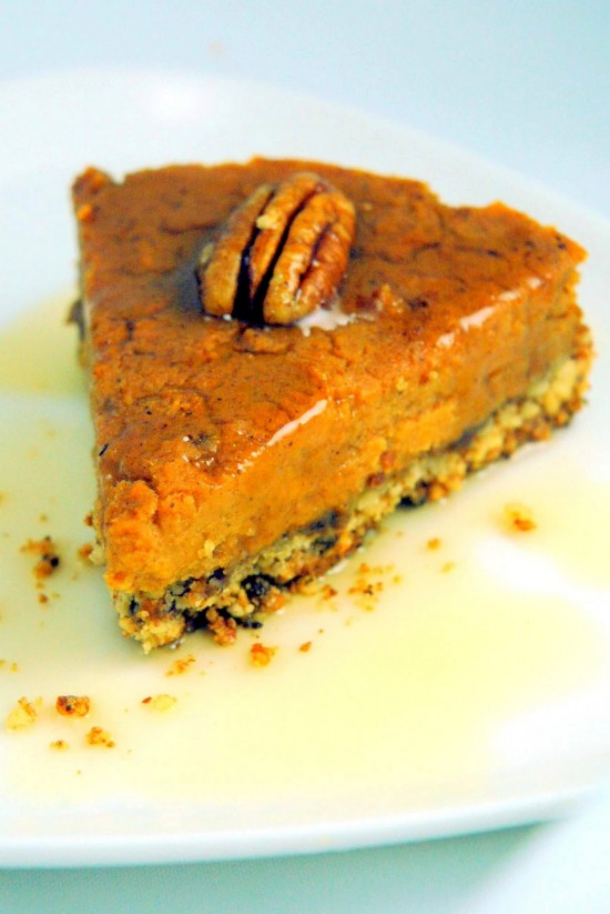 Vegan Sweet Potato Tart | A Dash of Compassion