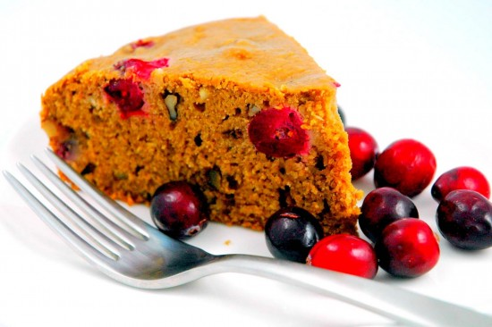 Cranberry-Orange Tea Cake | A Dash of Compassion
