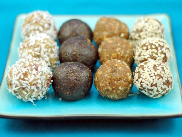 Spiced Fig Balls | A Dash of Compassion