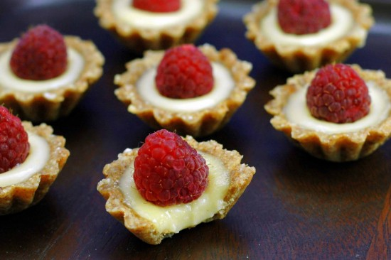 Raw Lemon Tartlets | A Dash of Compassion