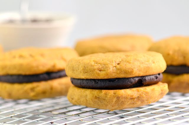 Gluten-Free Vegan Pumpkin Whoopie Pies | A Dash of Compassion