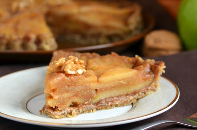 No-Bake Apple Tart | A Dash of Compassion