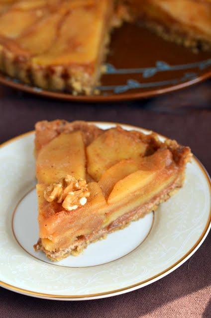 No-Bake Apple Tart | A Dash of Compassion