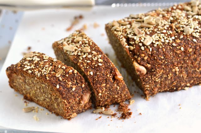 Sprouted Multi-seed Banana Loaf | A Dash of Compassion