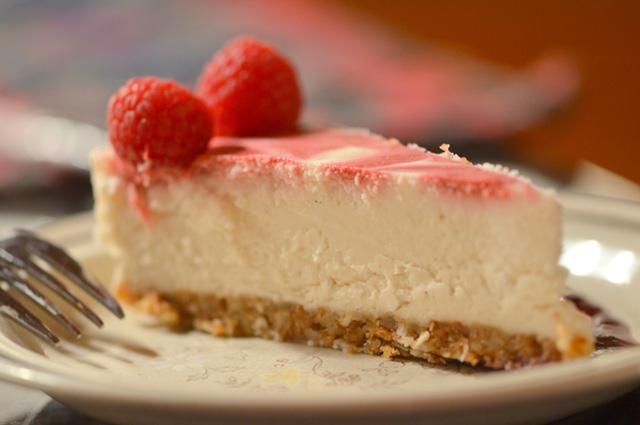Raw Raspberry Lemon Dreamcake | A Dash of Compassion