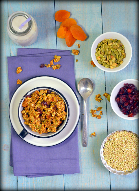 Pumpkin Spice Granola | A Dash of Compassion
