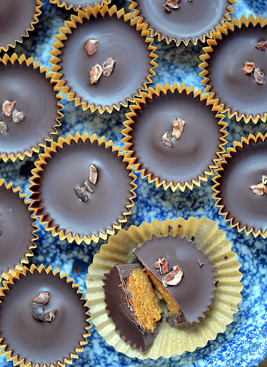 Dark Chocolate Almond Butter Cups | A Dash of Compassion