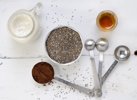 Smooth Mocha Chia Pudding | A Dash of Compassion