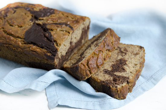 Gluten-free Marbled Banana Bread | A Dash of Compassion