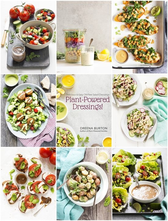 Dressings collage