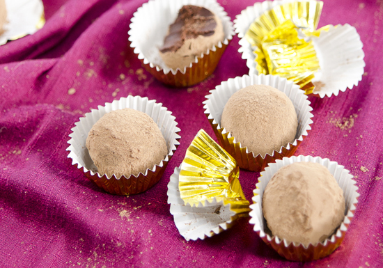 Maca Mint Chocolate Truffles | A Dash of Compassion