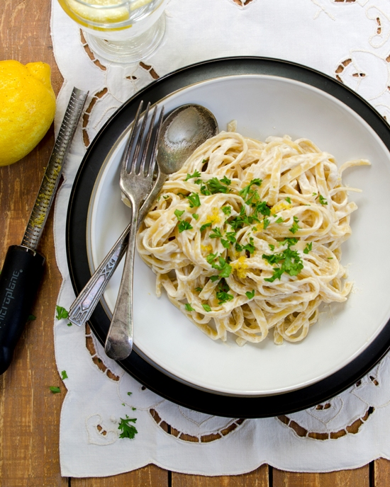 Creamy Fettuccine from The China Study All-Star Collection | A Dash of Compassion