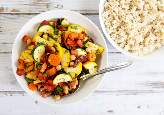 Raw or Cooked Ratatouille from Choosing Raw | A Dash of Compassion