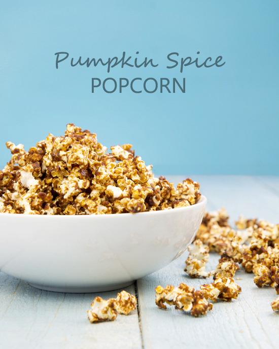 Pumpkin Spice Popcorn | A Dash of Compassion
