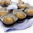 Gluten-free, oil-free masala chai carrot muffins