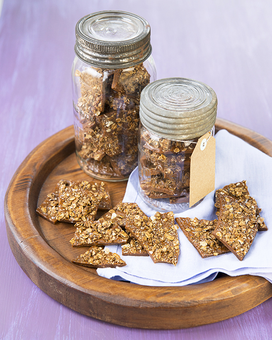 The Ultimate Vegan Gingerbread Granola Brittle | A Dash of Compassion