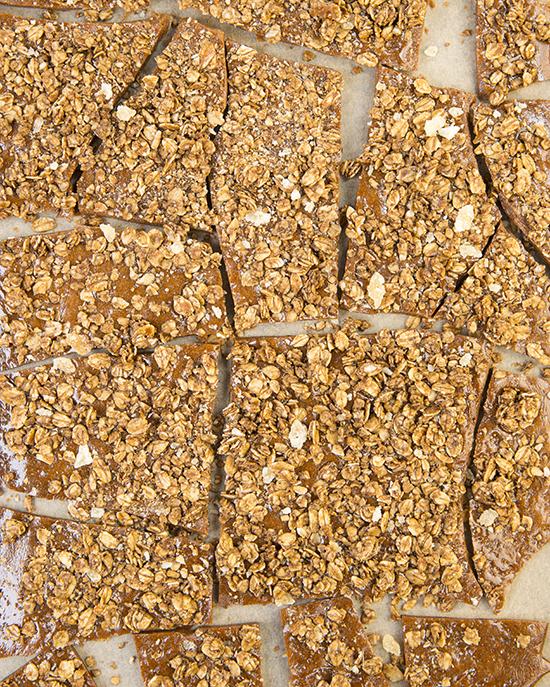 The Ultimate Vegan Gingerbread Granola Brittle   A Dash of Compassion