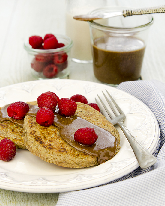 Single-Serve Pancakes from Living Candida-Free | A Dash of Compassion