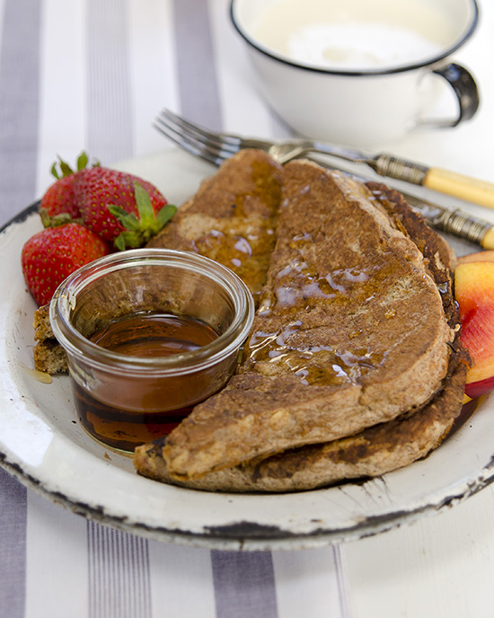 Cinnamon French Toast from Plant-Powered Families | A Dash of Compassion