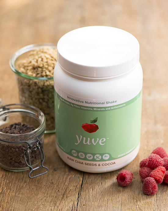 Yuve GIVEAWAY + chocolate raspberry smoothie bowl goodness | A Dash of Compassion