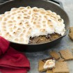 Vegan skillet s'mores dip for a crowd