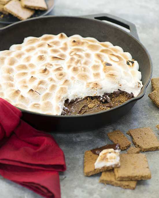 Vegan & Gluten-Free Skillet S'mores Dip | A Dash of Compassion