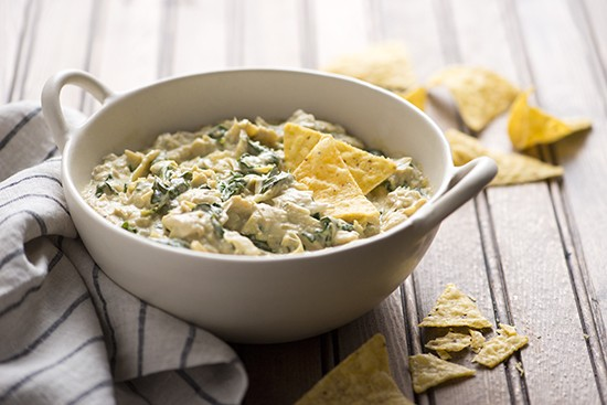 Tal Ronnen's Warm Kale and Artichoke Dip | A Dash of Compassion