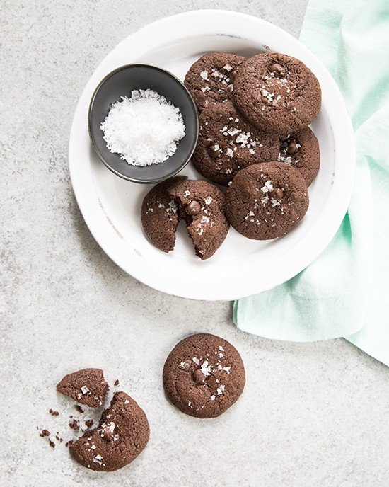 Gluten-Free and Vegan Salted Chocolate Cookies   A Dash of Compassion