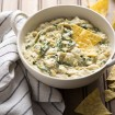 Tal Ronnen's warm kale and artichoke dip